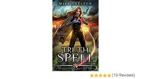 Cover art for TruthSpell by Mike Shelton